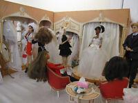 DOLL DISPLAY BRIDES AND SALES