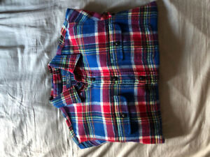 Brand new polo Ralph Lauren plaid flannel button up shirt!