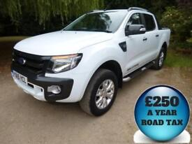 2015 Ford Ranger 3.2TDCi 200 Wildtrak Double Cab 4x4 Pick Up Diesel