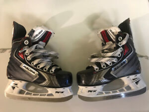 Kid's Bauer Vapour X-60 Ice Skates – Size Youth 11