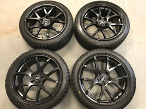 Bridgestone Blizzak WS80 Winter Tires 235/40R18 + ENKEI Wheels!
