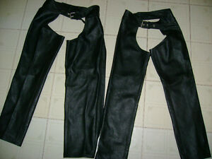 BRAND NEW -LEATHER CHAPS -FOR SALE -MEN'S & WOMEN'S