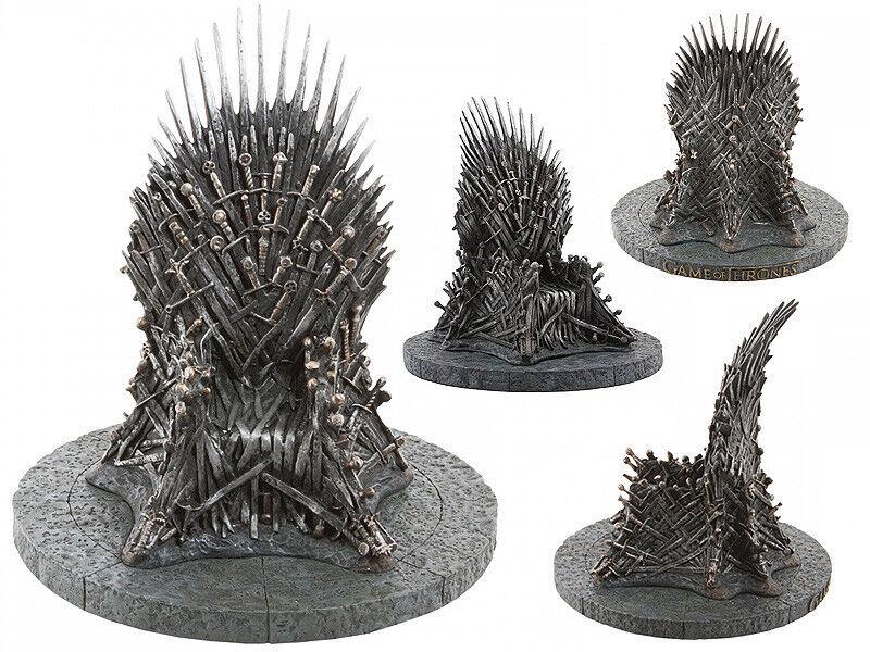 18cm Game of Thrones King Iron Sword Throne Model Decoration Figurine Statue