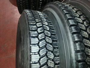NEW TIRES 11R22.5 11R24.5 315/80R22.5 (STEER, DRIVE & TRAILER) West Island Greater Montréal image 8