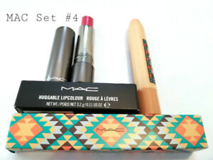 MAC MAKEUP SET#4: HUGGABLE LIPCOLOUR + PATENTPOLISH LIP PENCIL