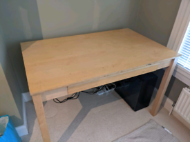 IKEA desk with pull out drawer