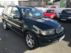BMW X5 LONG MOT DRIVES EXCELLENT