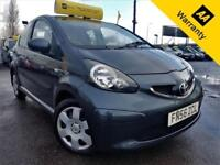2006 TOYOTA AYGO 1.0 VVT-I PLUS 5D 67 BHP! P/X WELCOME! AUTO! 2 OWNERS! £20 TAX!
