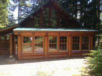 Vacation LOG Cabin near Manning Park - Sunshine Valley P13