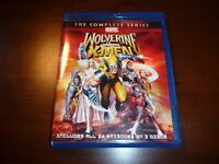 Rare Blu Ray Marvel Wolverine and The X-MEN