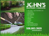 John's Maintenance and Landscaping