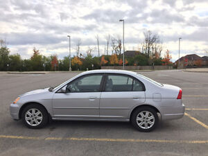 2003 Honda Civic LX Sedan, 101000km, AS IS