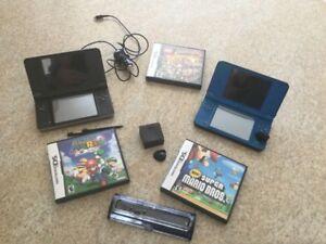 Kit de (2) Nintendo DS + Jeux (3)