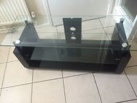 Black Marble Finish Tv Stand