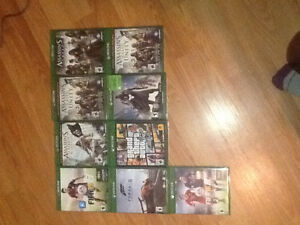 Xbox one and 9 games