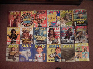 MAD Magazines for sale any 10 for $30,00