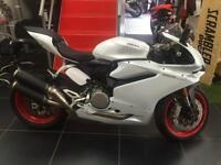 DUCATI 959 PANIGALE WHITE SILK IN STOCK AND AVAILABLE FOR DELIVERY