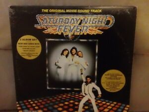disque vinyle - Saturday Night Fever- Bee Gees