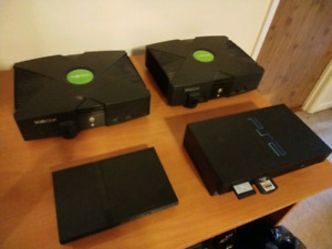 Retro gaming! (Og Xbox & 2 ps2's)