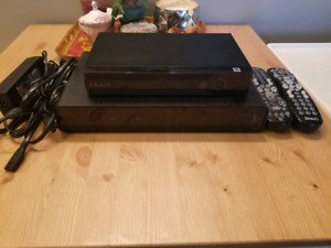 Shaw Cable XG1 HD PVR 500GB and Arris Portal MP2150