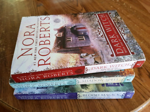 Nora Roberts trilogy set.