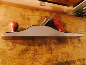 WoodRiver No. 6 Hand Plane and water stone