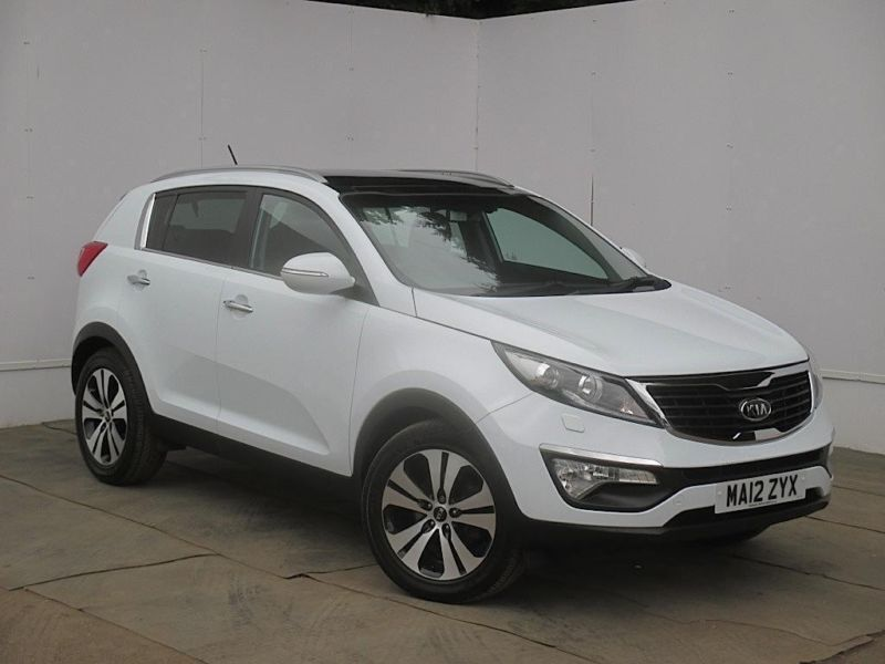 2012 kia sportage 1 7 crdi isg 3 5dr estate diesel white manual in cambridge cambridgeshire. Black Bedroom Furniture Sets. Home Design Ideas