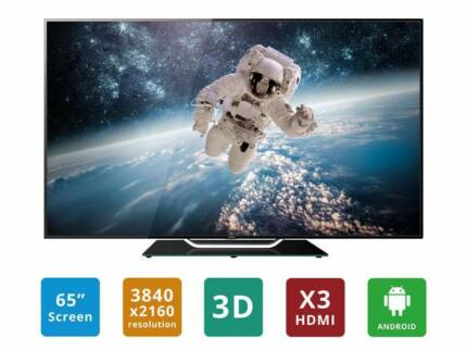 "BRAND NEW 65"" Ultra HD LED Smart TV * VERY CHEAP* Dallas Hume Area Preview"