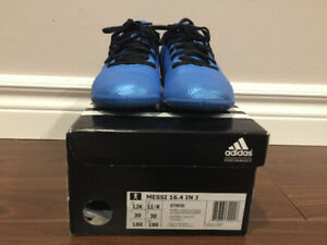 Adidas Kids' Messi 16.4 IN Indoor Soccer Shoes