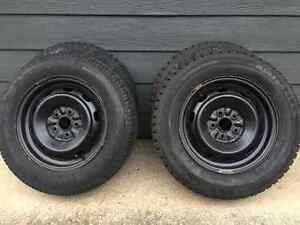 Four Tires and Wheels