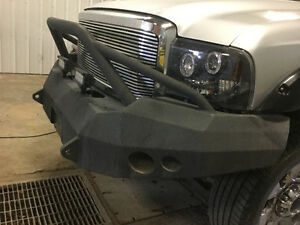 Iron cross front bumper ford powerstroke F250 F350