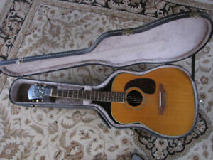 Vintage Harmony Sovereign Acoustic Guitar
