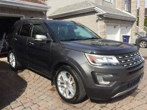 2017 Ford Explorer Limited SUV, Crossover