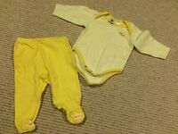 Matching onsie and pants size 0-3 months