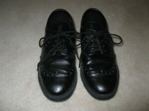 Boys Black Protocol Dress Shoes