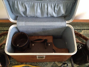 Vintage Canon FX Camera Collection with Custom Leather Bag Cambridge Kitchener Area image 9