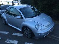 Volkswagen Beetle 1.6 petrol manual 2006