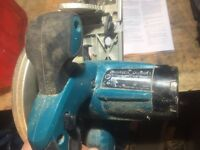 Makita DSS61 Circular Saw - Spares or Repair brushes (bare)
