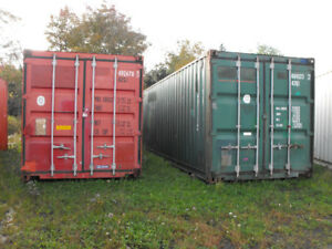 Storage Unit For Rent- 40 Foot Container $149 per month