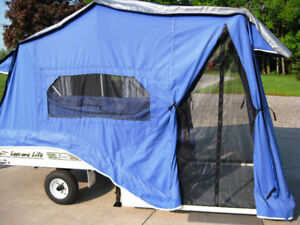 2014 LEES-URE LITE EXCEL MOTORCYCLE or car TENT TRAILER.$4,500.