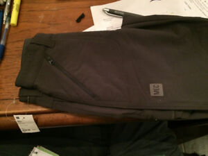 Mountain Equipment Co-op Gray Cargo lined pants