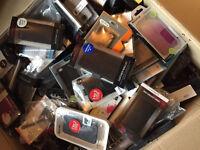 BRAND NEW ORIGINAL GENUINE- SAMSUNG \ HTC \ IPHONE \ BLACKBERRY MOBILE CASE COVERS WHOLESALE JOBLOT