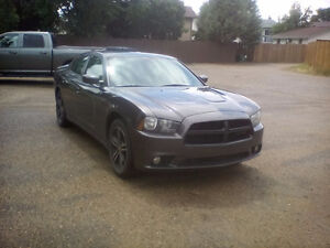 2013 Dodge Charger AWD SXT Plus SPORT, NAV, LEATHER, S/ROOF