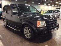 2008 Land Rover Discovery 2.7 TD V6 HSE 5dr Diesel black Automatic