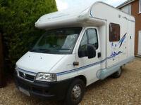 2003 ACE Novella Capri 2 Berth Coachbuilt Motorhome-with End Kitchen