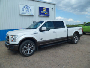 2015 FORD F150 SUPER CREW KING RANCH / 4X4 / 5.0 LT