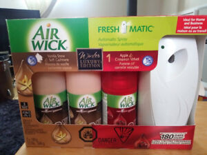 Vaporisateur automatique Air Wick fresh matic
