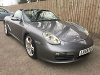 2005 55 Porsche Boxster S 3.2 6 SPEED LEATHER STUNNING 36.7 MPG P/X
