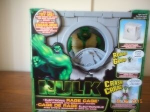 The Incredible Hulk 2003 Electronic Rage Cage Sounds & Breakout