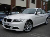 2010 60-Reg BMW 318d M Sport,ALPINE WHITE,FULL BMW SERVICE HISTORY!!!